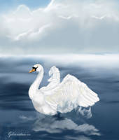 THe Swan by r-Ghaidaa
