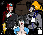 The b*tch is mine ft Bass, Zero and MegaMan by pierrotcvb