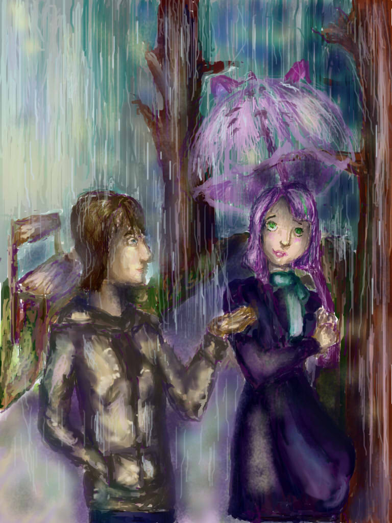 Gift: In the rain by forget22anabelle