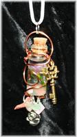 Gypsy Rose Vial Necklace