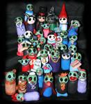 Zombie Horde Sculpts