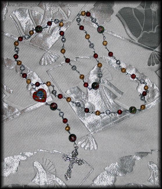 Rosa Rosary by fallnangeltears