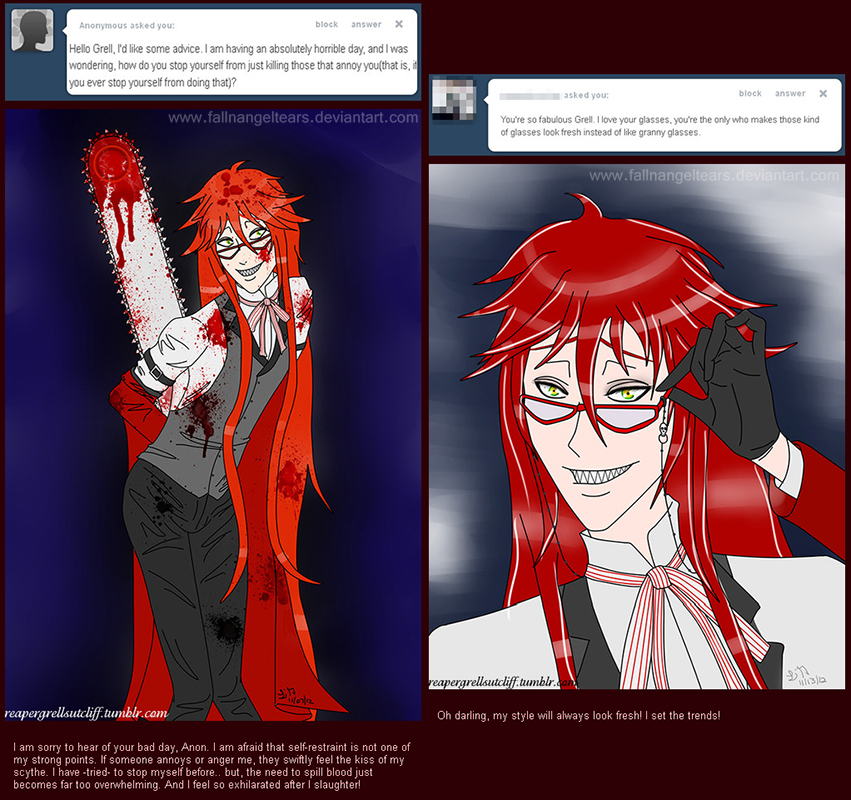 Ask Grell Tumblr Replies 16 by fallnangeltears