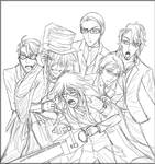 Haunted House Reapers Sketch
