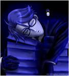 Sleeping Blue Ronnie