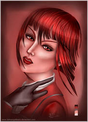 Madame in Red by fallnangeltears