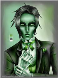 Claude in Green by fallnangeltears
