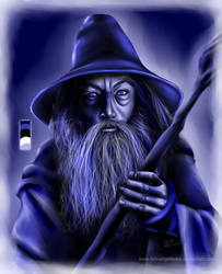 Gandalf in Blue