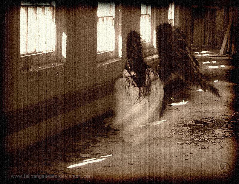 Asylum Angel II by fallnangeltears