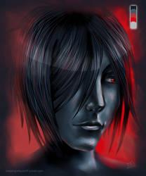 Shadowed Sebastian by fallnangeltears