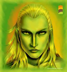 Green Legolas Greenleaf by fallnangeltears