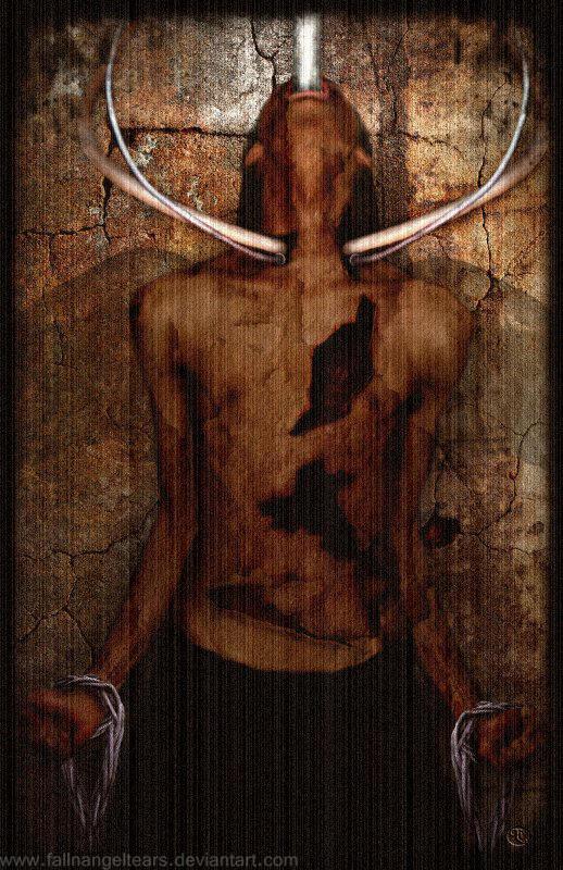 Tormented Soul by fallnangeltears