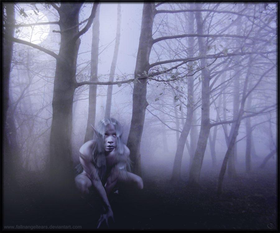 Ghost Drow by fallnangeltears
