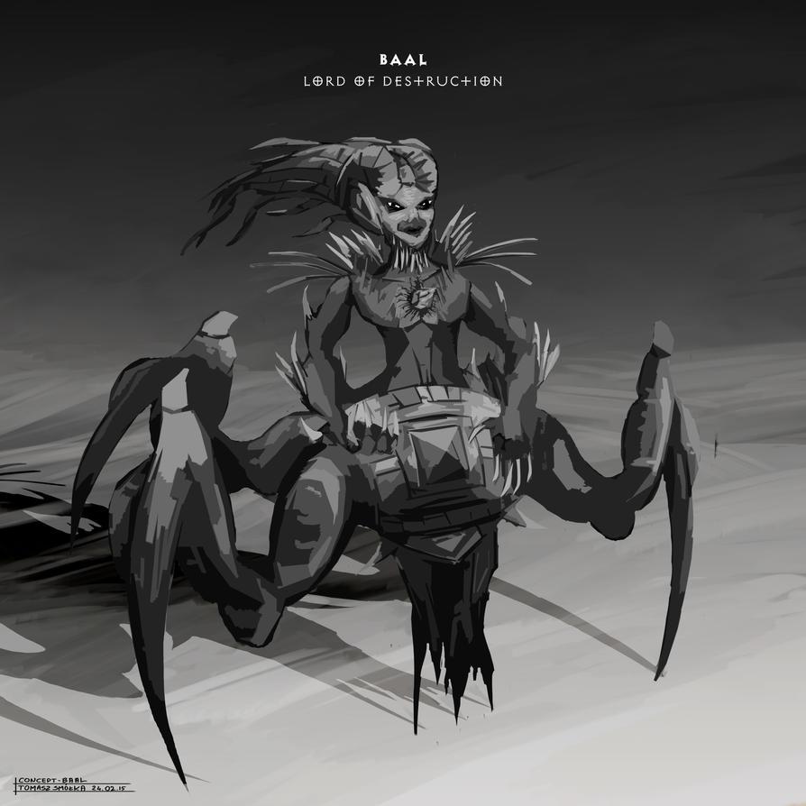 Brainstorm Challenge 19 Diablo - Baal by Virandile