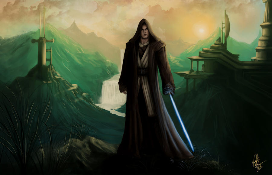 DeaconX's Jedi by Peter-Ortiz