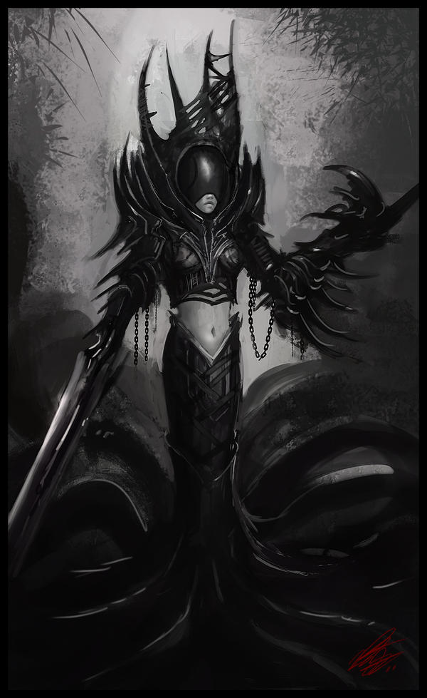 Dark Queen by Peter-Ortiz