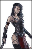 Black Athena by Peter-Ortiz