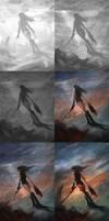 Angel Slayer-steps