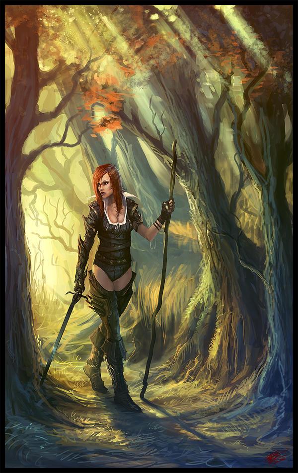redhead by Peter-Ortiz