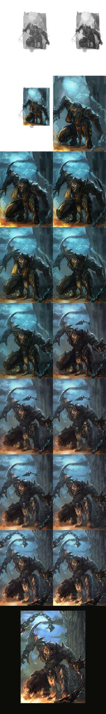 Scorpion-steps by Peter-Ortiz