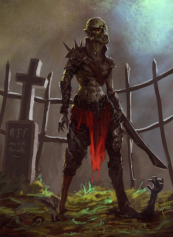 ipad zombie by Peter-Ortiz