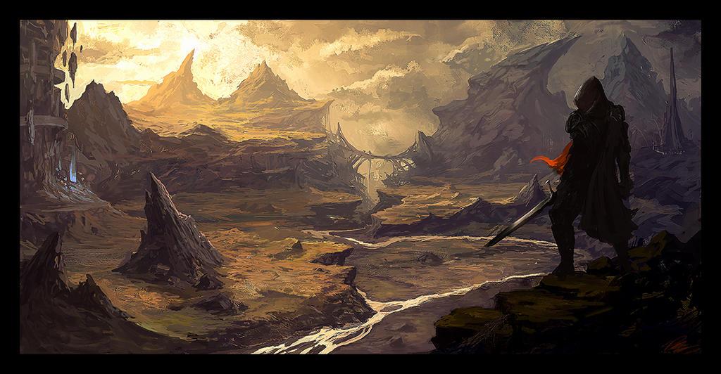 Valley by Peter-Ortiz