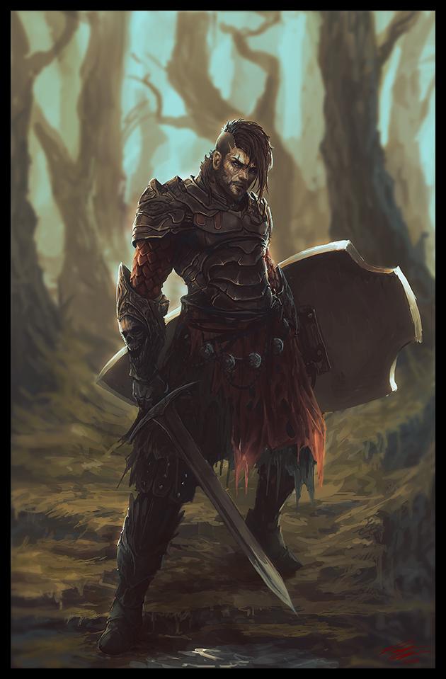 Seasoned Warrior by Peter-Ortiz