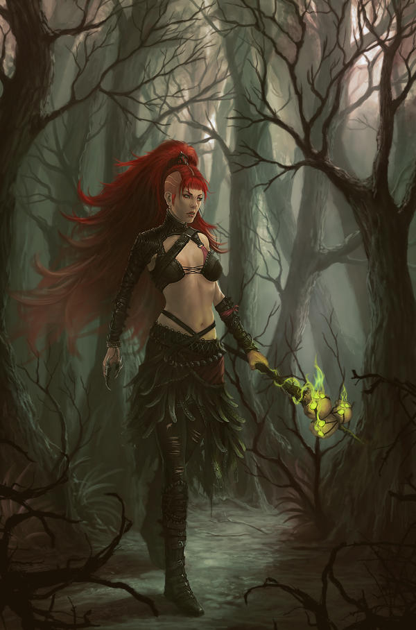 Witch-Outcast by Peter-Ortiz