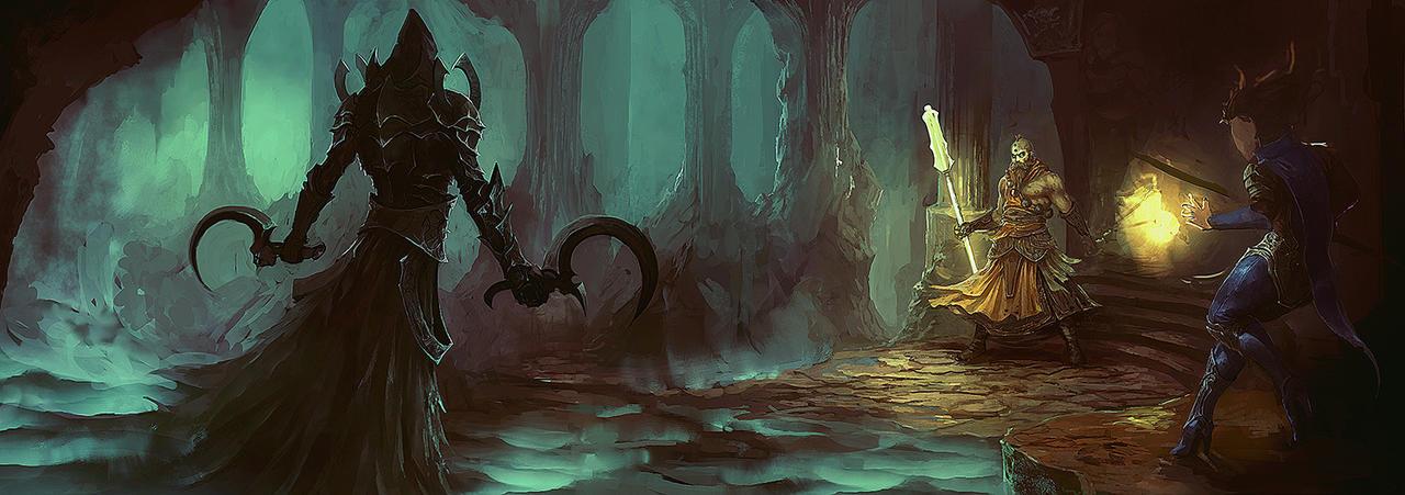 Diablo 3: Reaper by Peter-Ortiz