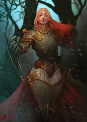 Joan of Arc by Peter-Ortiz