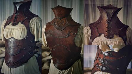Fenrir leather armor