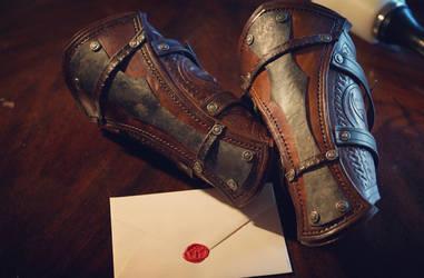 Viking vambraces