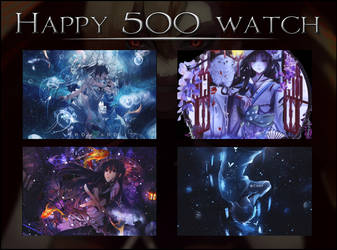 Happy 500 watch by Dongtra-maochan