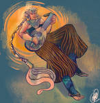 Abram and his Lute