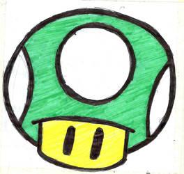 1UP [Mario] by Azoke