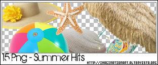 Summer Hits PNG - set 15