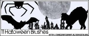 Halloween Brush