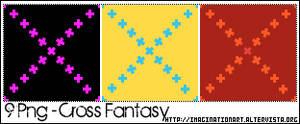 Cross Fantasy Pattern Set 15