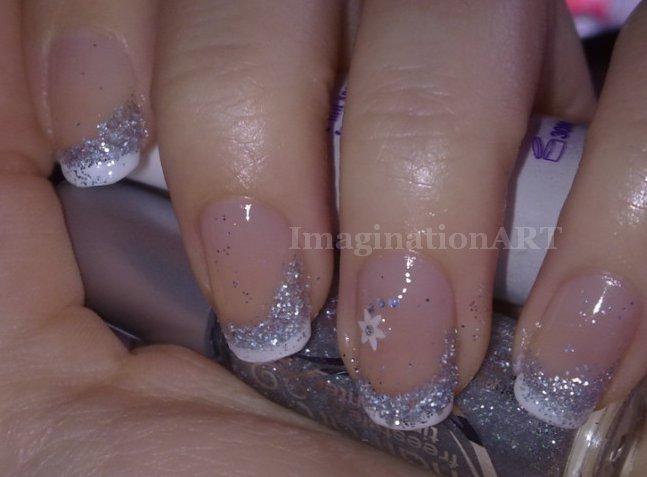 07_Sparkle French Nail Art by pinkshadoww on DeviantArt