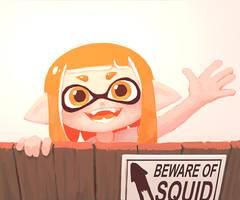 beware of squid