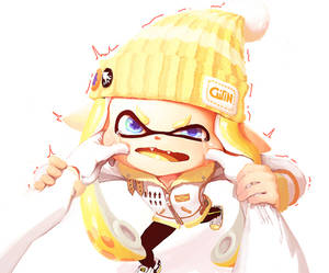 You coward! Come here and fight me like a squid!