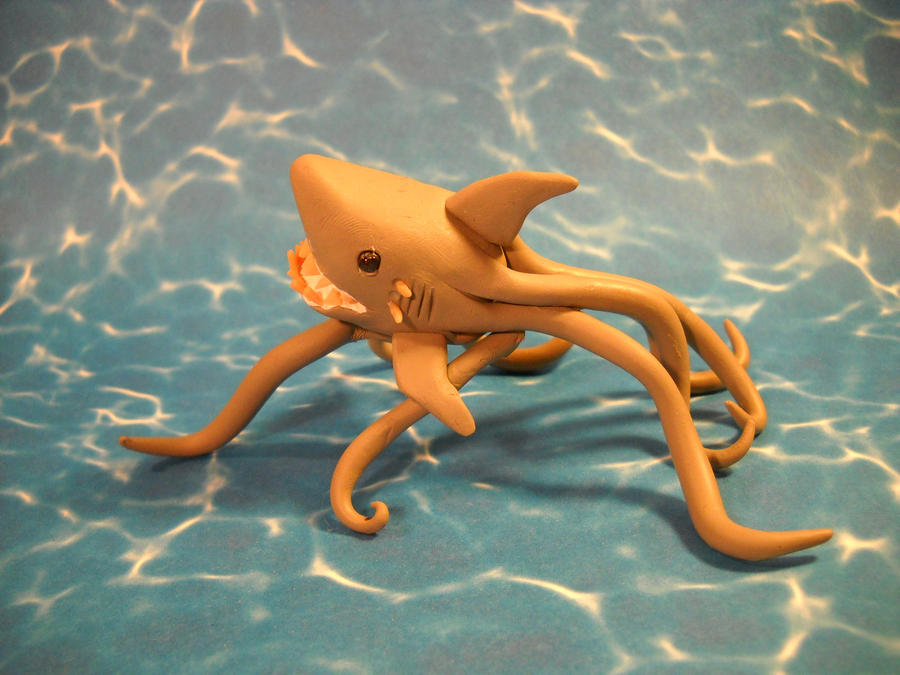 creative wallpaper picture Where can I get a Sharktopus doll