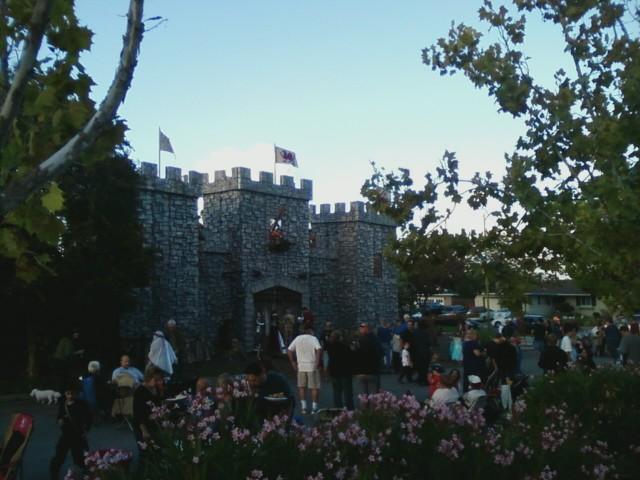 Halloween Castle by Mindslave24-7