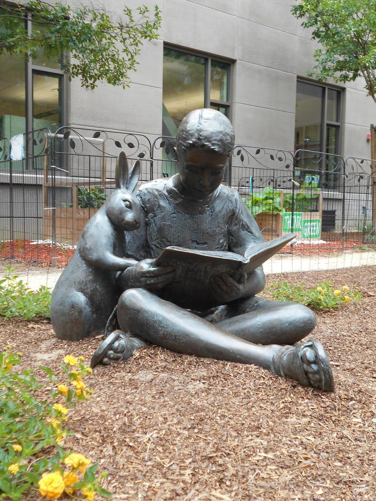 Bunny Reader... by Mindslave24-7