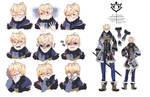 Miels Caesare expressions + updated outfit