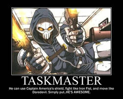 Taskmaster Motivational poster by Iorigaara