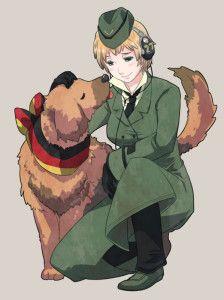 Dogs - Fem!Germany x Male!Reader by Mikorin-kun on DeviantArt