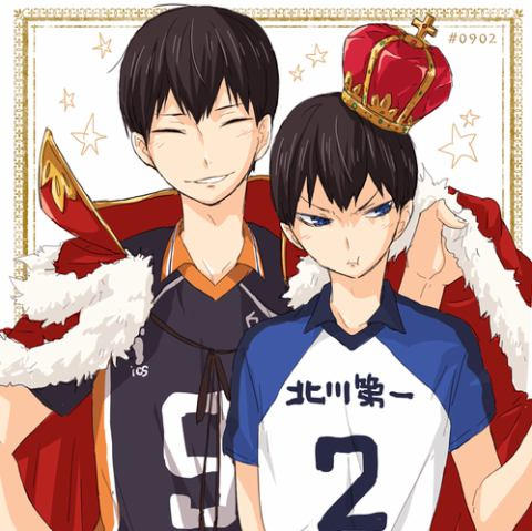 Milk makes you strong! - Kageyama and GN!Reader by Mikorin