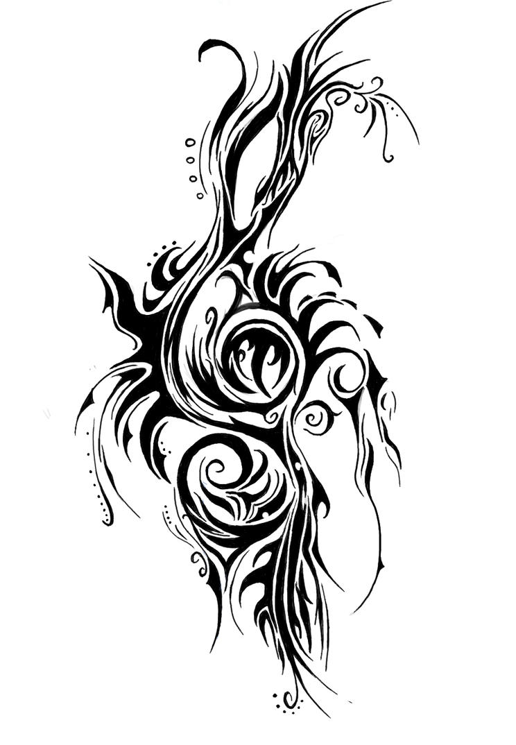 Clef Tribal by minathene