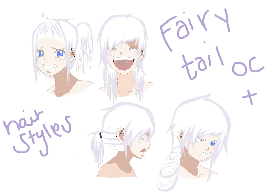 Fairy Tail Oc Hair Styles By Satans Proxy On Deviantart